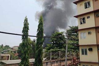 Sunog sumiklab sa isang residential area sa Malabon