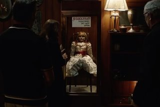 Movie review: Scares keep on coming in 'Annabelle Comes Home'