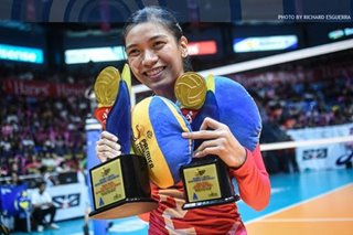 PVL: Alyssa Valdez clinches third MVP award