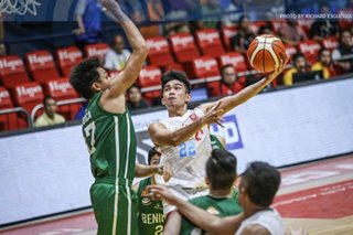 NCAA: EAC's Mendoza is first Player of the Week for Season 95