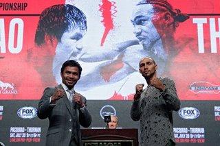 Pacquiao battling age, hungry foe in title showdown