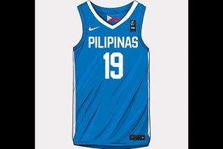 LOOK: New Gilas uniforms for 2019 FIBA World Cup