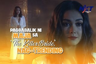 Pagbabalik ni Maja sa 'The Killer Bride', nag-trending