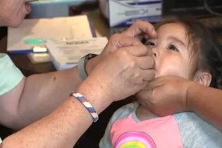 26 samples from Metro Manila, Davao City test positive for polio virus
