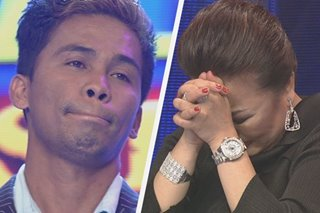 Dulce in tears as she is forced to 'gong' finalist in 'Tawag ng Tanghalan'