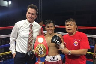 Boxing: Pedro Taduran crowned world champ in all-Filipino title bout