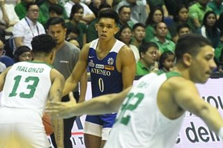 UAAP 82: How Thirdy reacted to Jamie Malonzo's poster dunk on him