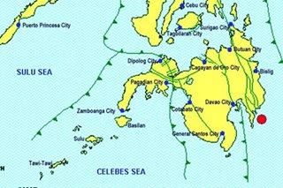 4.1-magnitude quake jolts Davao Oriental; damages unlikely