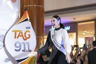 Miss Universe Catriona Gray dinumog sa Dubai