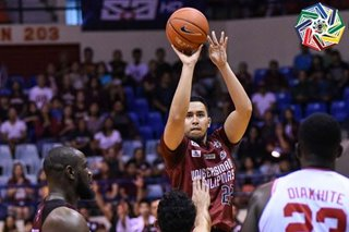 UAAP 82: Fighting Maroons survive UE, keep solo 2nd spot