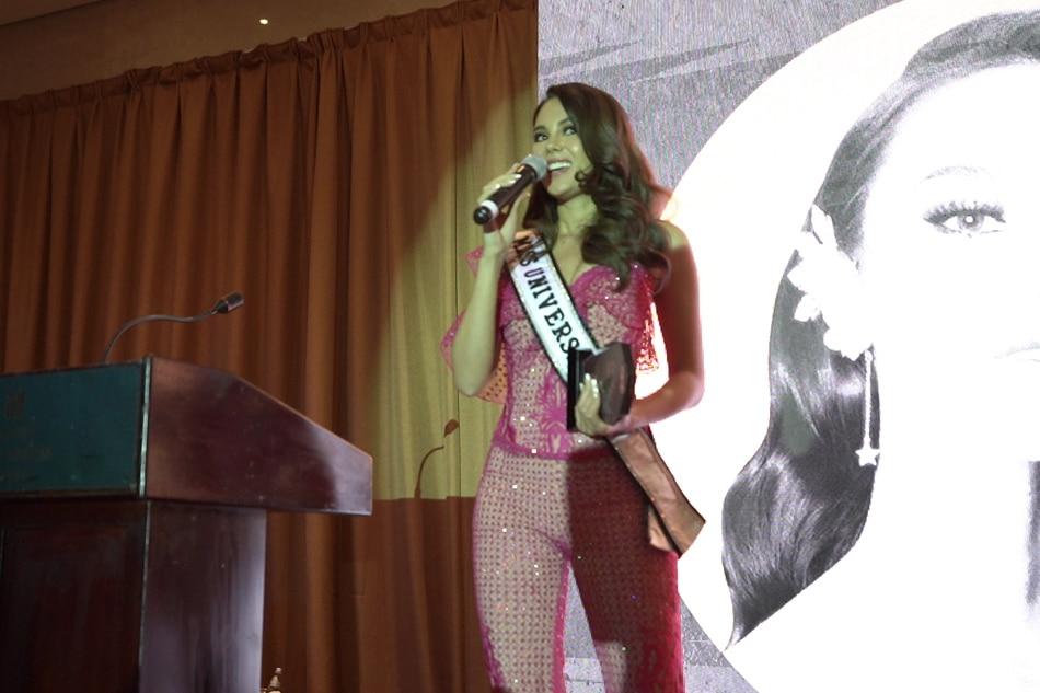 Catriona Gray hinirang na 'Woman of the Year' sa Dubai