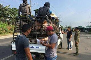 Checkpoints sa ibinabiyaheng karne, pinaigting sa Davao City