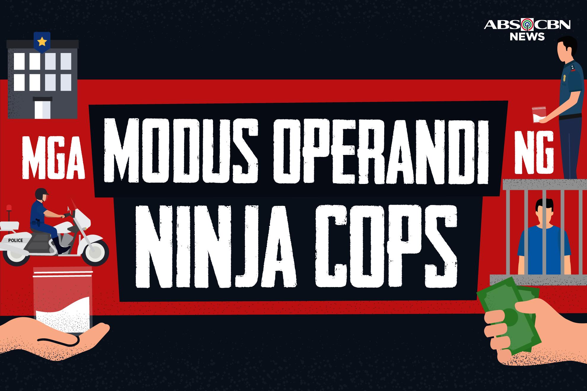 Galawang 'ninja cops': Ano ang modus operandi sa umano'y recycled drugs?