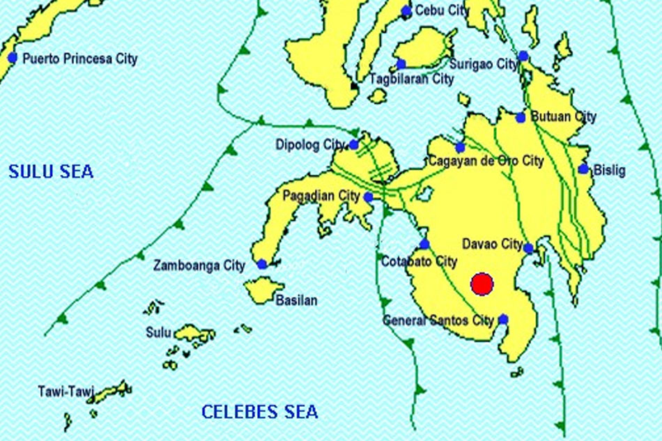 Aftershocks continue in Mindanao, 3 days after magnitude-6.3 quake