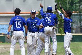 UAAP: Ateneo through to finals of juniors baseball