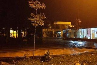 Ilang lugar sa Davao, binaha dahil sa malakas na ulan