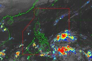 PAGASA spots brewing low-pressure area near Surigao del Sur