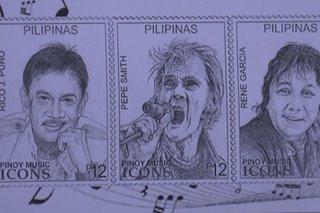 OPM icons tampok sa bagong commemorative stamps