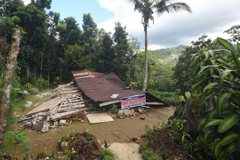 'Earthquake not God's punishment' - Kidapawan Bishop 1