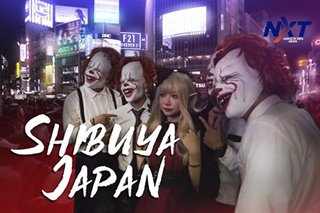 Shibuya Halloween Party, sama ka?