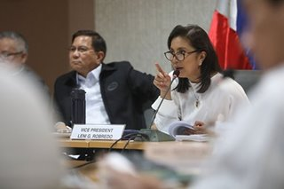 Robredo on Cabinet meetings: I'll go if I'm invited