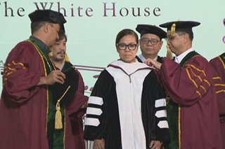 Pinay na executive chef ng White House ginawaran ng honorary degree sa UP