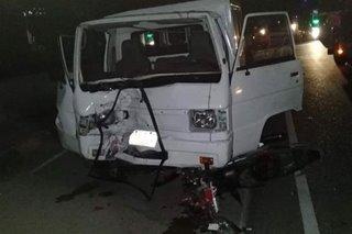 1 patay sa banggaan ng motor, van sa Ilocos Sur