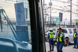 Ilang convoy sa SEA Games dry run naipit sa EDSA traffic