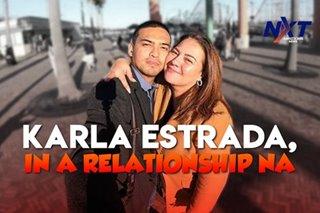 Karla Estrada, in a relationship na