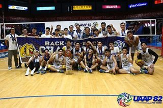 UAAP: NU Bullpups sweep FEU for back-to-back boys' volleyball titles