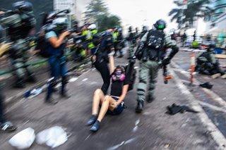 Hong Kong protests drag on