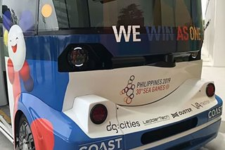 SEA Games: Driverless shuttle buses arrive in New Clark City