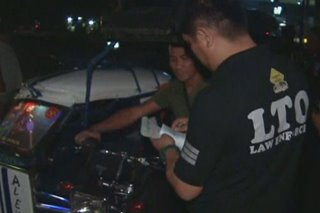 Higit 4,000 pasaway na motorista, huli sa 'one-time big-time' ops