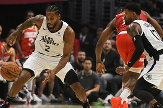NBA: Leonard hits winning jumper as surging Clippers defeat Rockets