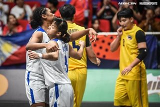 SEA Games: Afril Bernardino stars, as Gilas women clinch 3x3 gold