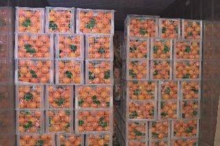 Higit P100-M halaga ng smuggled fruits, vegetables nasabat
