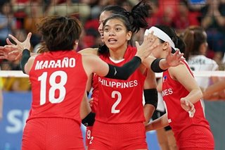 SEA Games: Philippines falls to 0-3 in women's volleyball