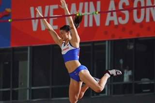 SEA Games: Natalie Uy follows in Obiena's footsteps for pole-vault gold
