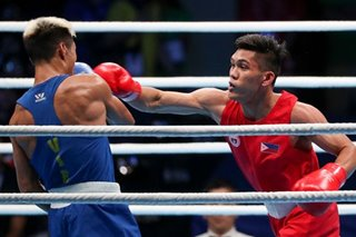 James Palicte fulfills father's wish, gets SEA Games boxing gold
