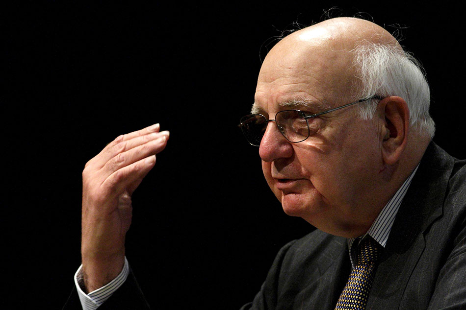 Former Federal Reserve Chairman Paul Volcker has died