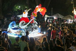 LOOK: UP Lantern Parade 2019