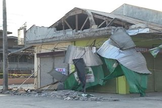 Mga negosyo apektado sa lindol sa Davao del Sur