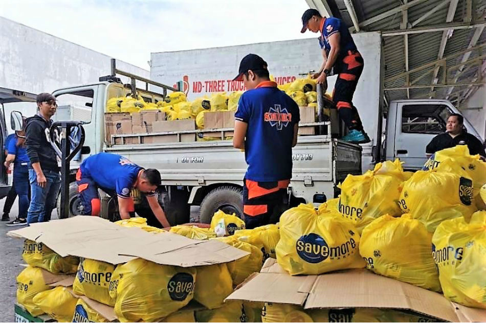 SM Supermalls extends aid, assistance to Taal Volcano victims