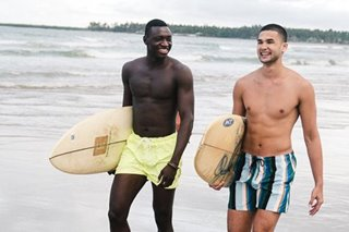 H&M launches new swim collection ft. UAAP's big guns Kobe Paras and Chabi Yo Soulemane