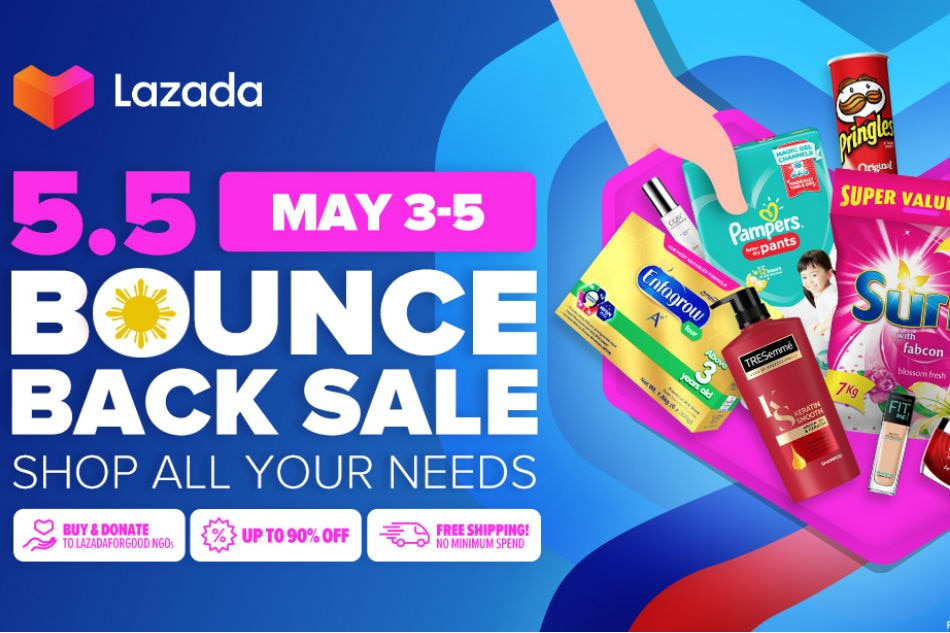 Lazada supports local sellers through Bounce Back Sale