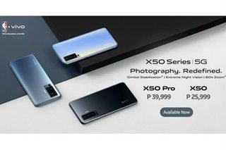 vivo's X50 Series now available in PH