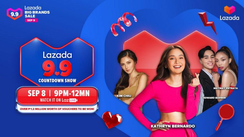 Lazada's 9.9 Big Brands Sale features exclusive deals 2