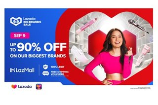 Lazada's 9.9 Big Brands Sale features exclusive deals