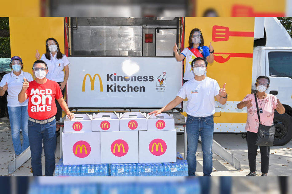 McDonald's joins Pilipinas Kontra Gutom movement