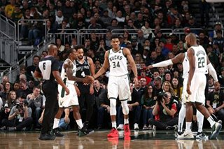 NBA: Bucks use 1-2 punch to overpower Spurs